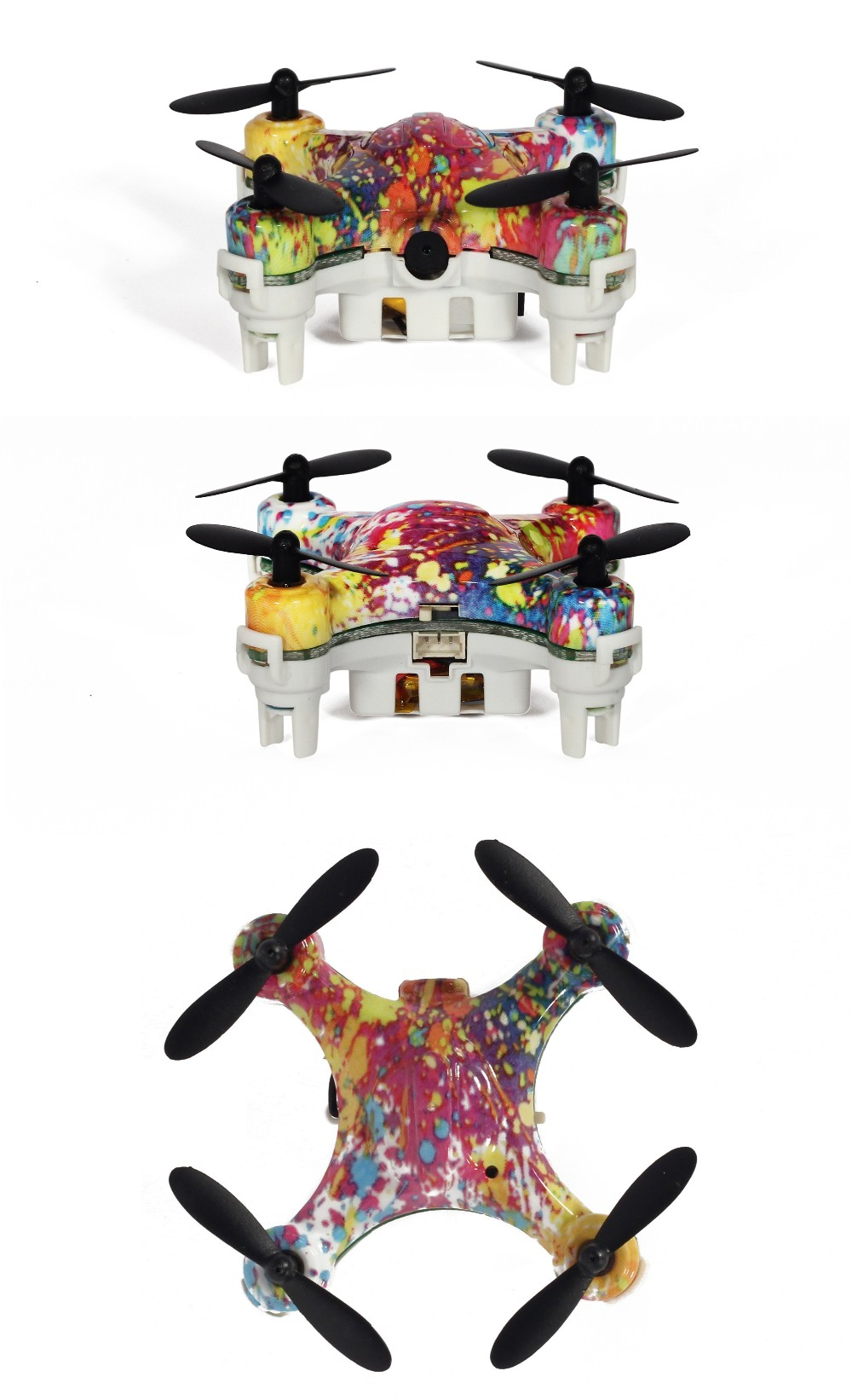 New designed toys radio controlled plane 3D flip quadcopter toy drone with camera for sale