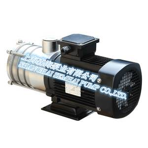 Horizontal stainless steel multistage pump