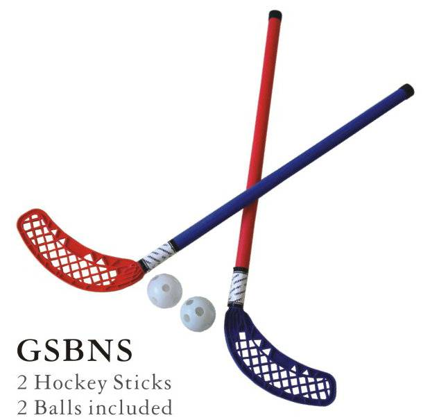 kids plastic field hockey stick set