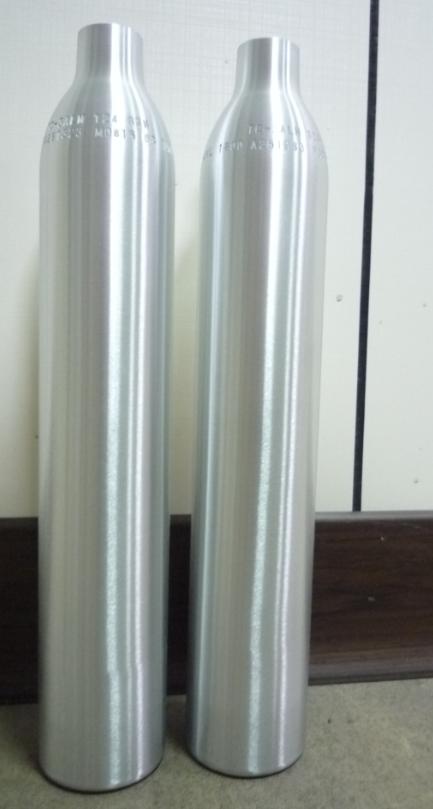 0.6L soda aluminum cylinder/soda aluminum cylinder/soda maker CO2 cylinder/beverage cylinder