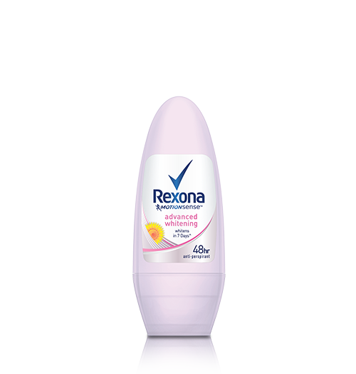 REXONA ADVANCED WHITENING ROLL-ON