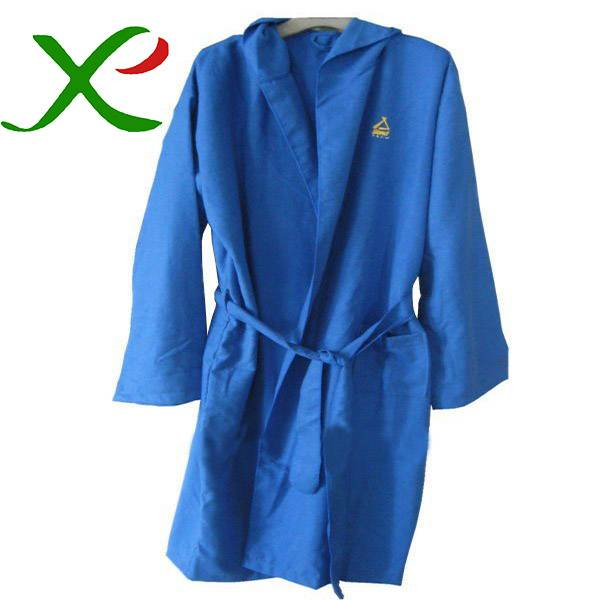 Suede Microfiber Bathrobe