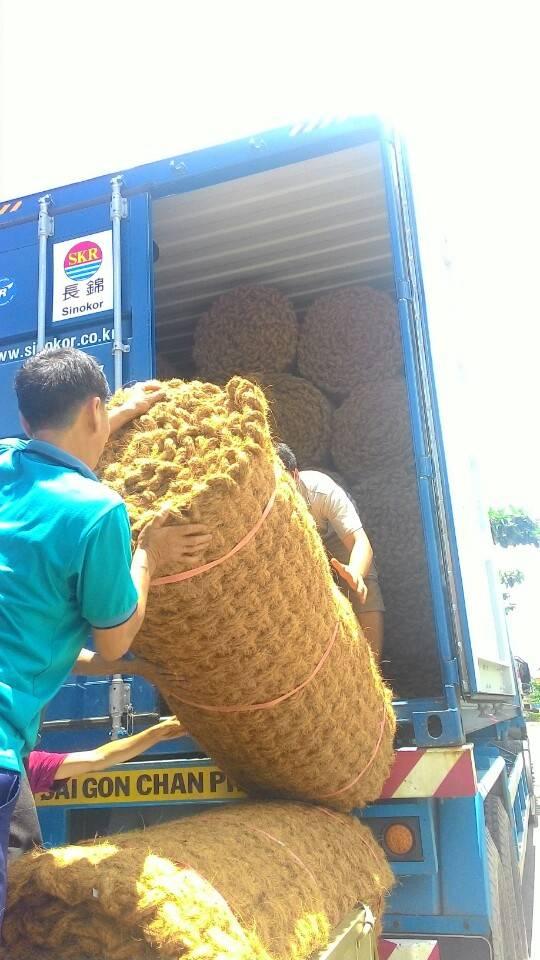 Biodegradable Coconut Fiber Mat/coconut fiber mats