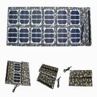 36W Portable Foldable Solar Panel Charger for Laptop, Mobile Phone, Automotive Battery