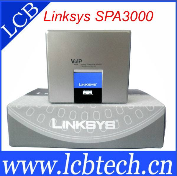 unlock but new Linksys SPA3000 VOIP phone adapter