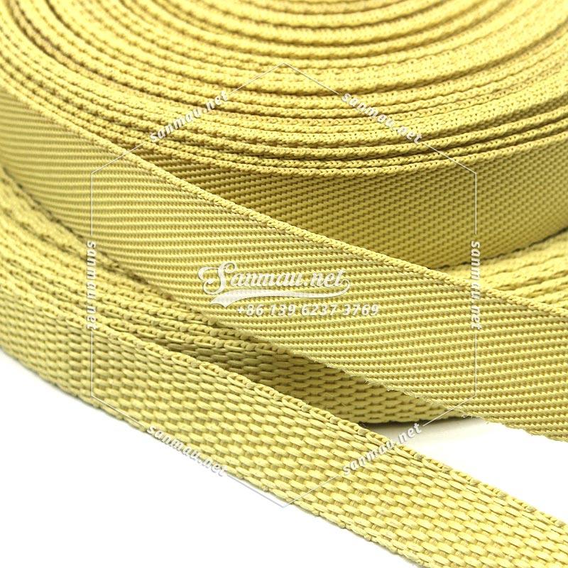 Kevlar Aramid Webbing Tape, FireRetardant, SuperStrong, Source Manufacturer - Sanmau