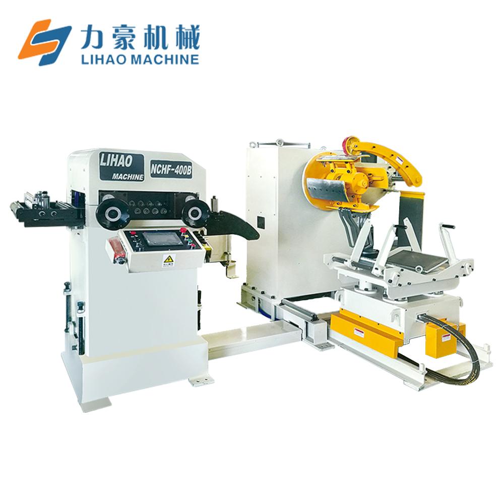 NCHF Type Straightener Feeder & Uncoiler 3 In 1 Machine For Sheet Thickness: 0.2mm~2.0mm