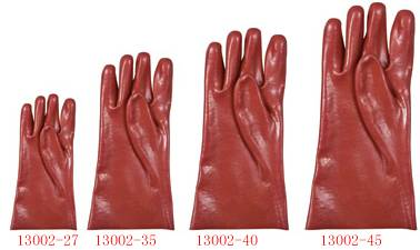 PVC coated gloves/working gloves