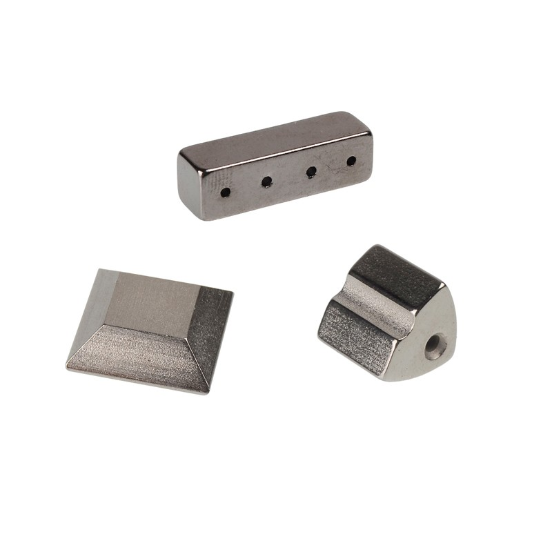 Polygonal Magnet with Coating and Holes