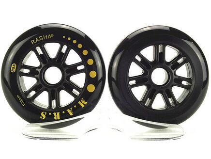 Rasha Speed Skating Wheels 120mm Hardness 85A 120 Wheels Mostly 172g High Quality for Racing Scooter