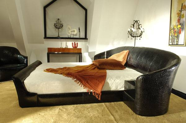 High-end designer furniture: leather bedroom sets - Shanghai JL&C Furniture Co., Ltd