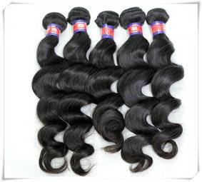 human hair extensions loose hair weft 8-30inch