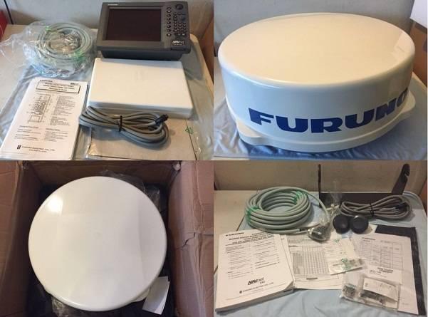 "Furuno Navnet VX1 10"" 1833C 4kw 24"" Dome Radar System"