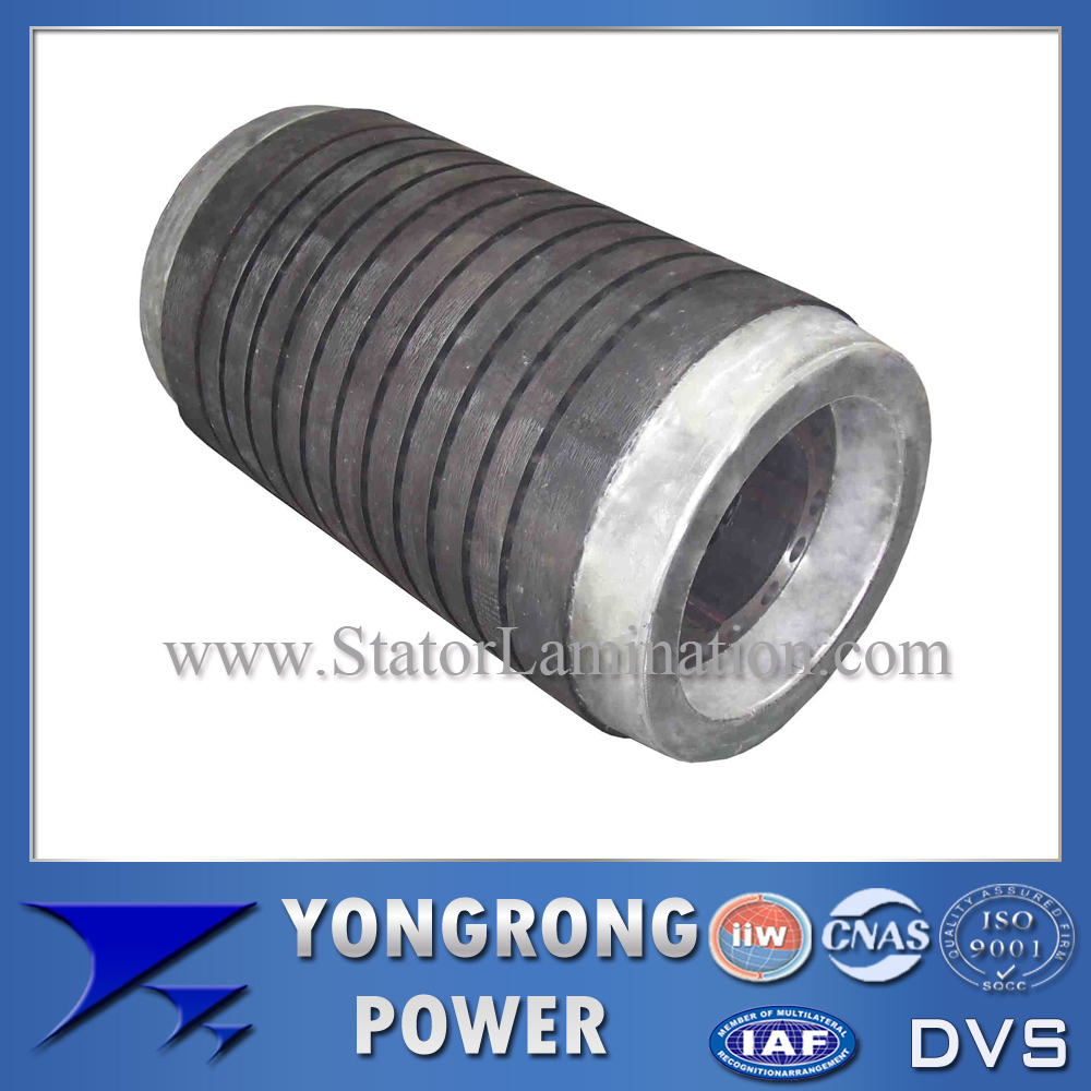 IE3 Efficiency Middle and High Voltage Electric Motor Centrifugal Rotor Core