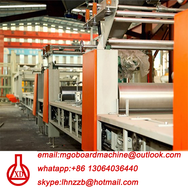 fireproof slab straw sheet production line