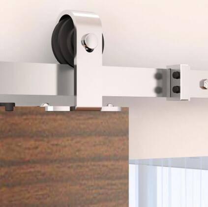 Modern fashion wooden sliding door hardware,stainless steel sliding door wheel
