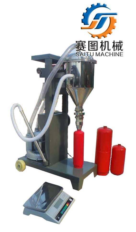 portable dry powder extinguisher filling machine