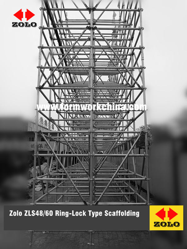 Zolo Ring-Lock Type Scaffolding
