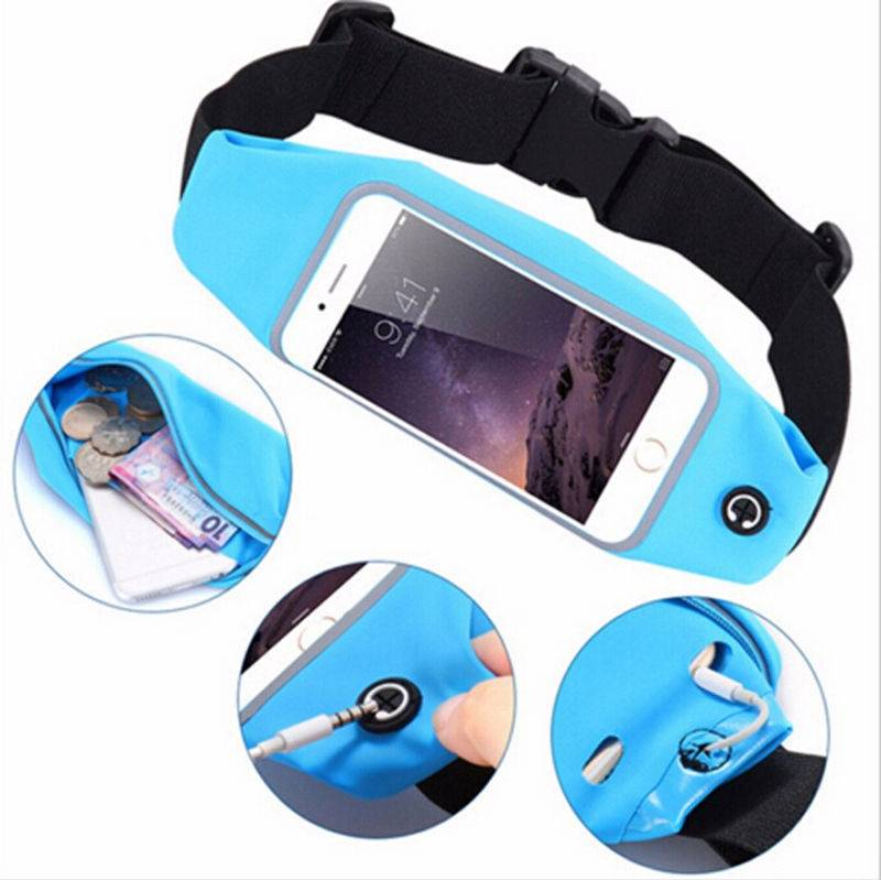 Outdoor sports running mobile phone waist bag multi-function universal bag for iPhone 6/6s plus ipho