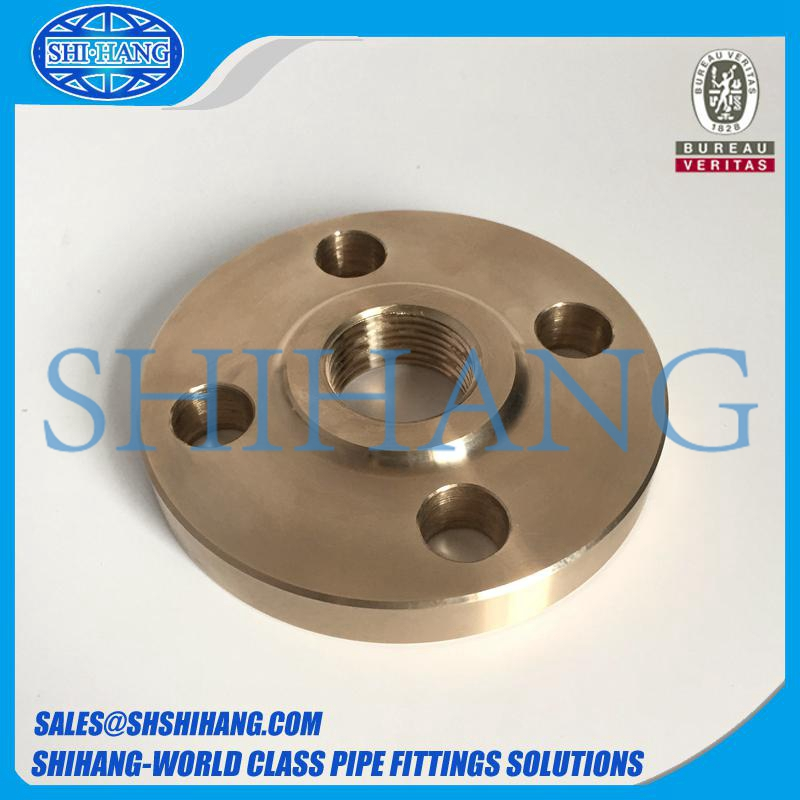 copper nickel cuni 90/10 c70600 threaded flange
