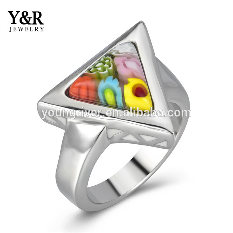 Cheap Custom Made Stainless Steel Womens Wedding Ring