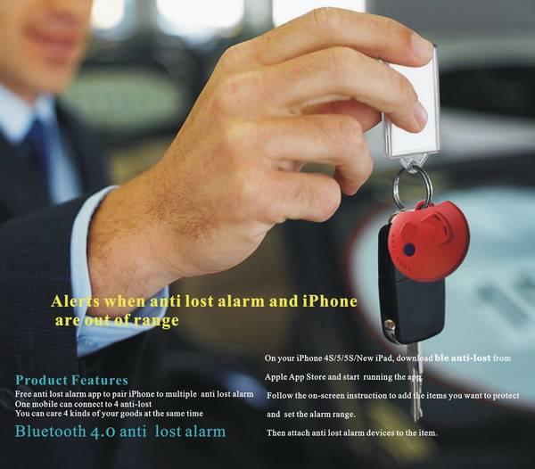 Bluetooth 4.0 anti-lost alarm