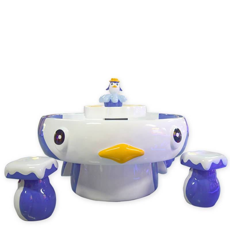 Penguins Sand Table of Carnival Game for children funzone supplier&exporter