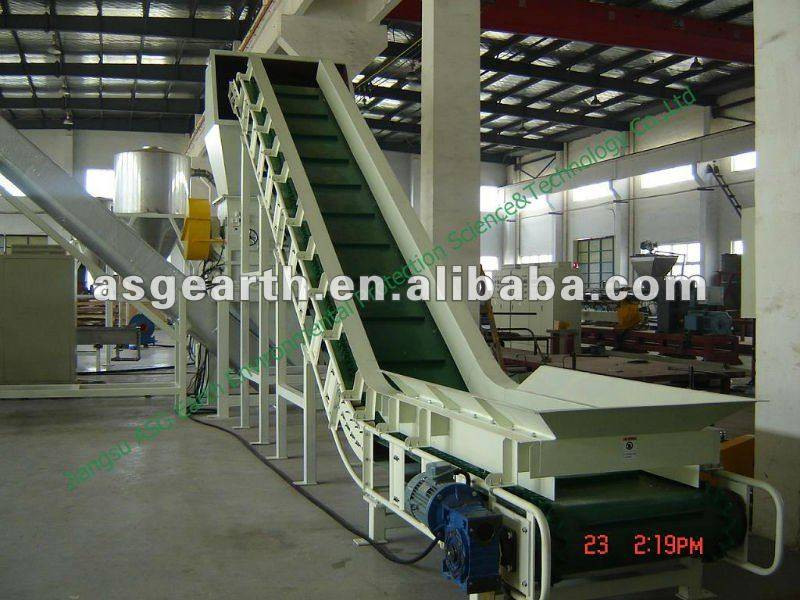 Plastic recycling machinery PE film
