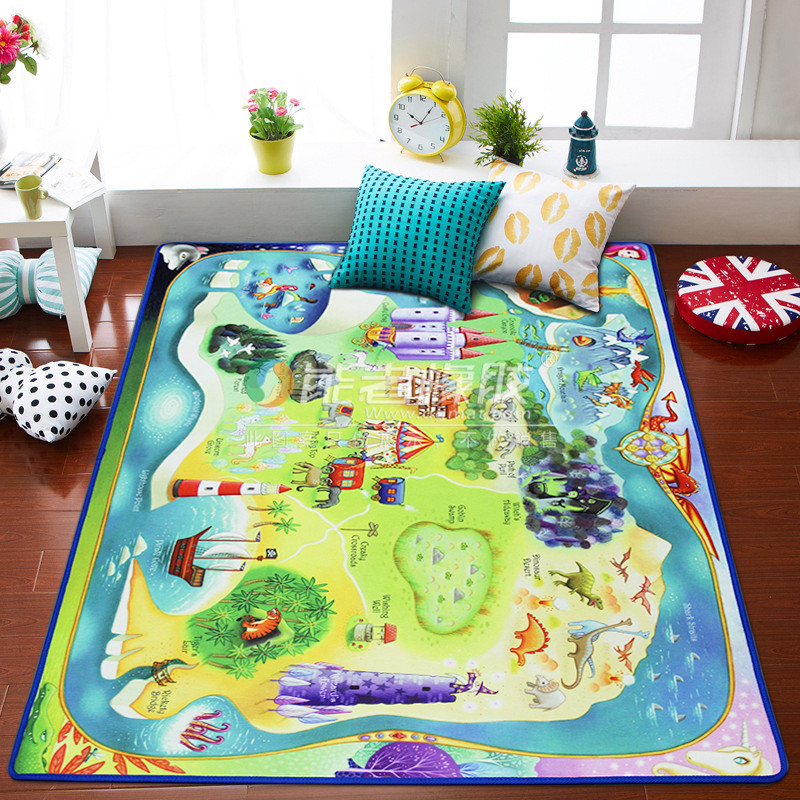 Large (801200.4 CM) Rubber Baby Play Mat For Sale with EN-71 certificate