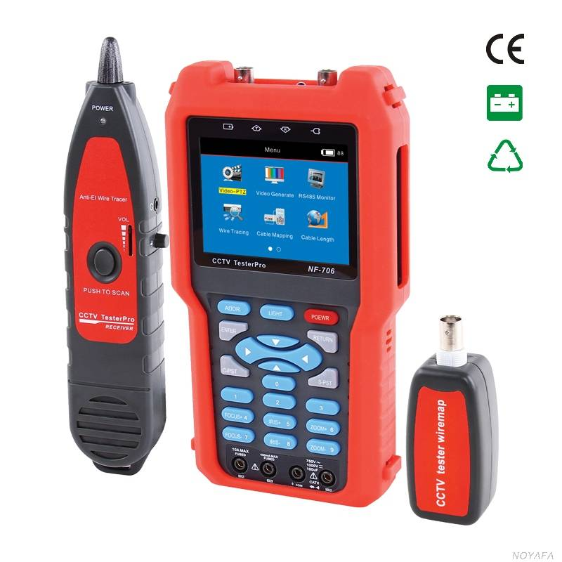 CCTV tester NF-706 & cable length tester