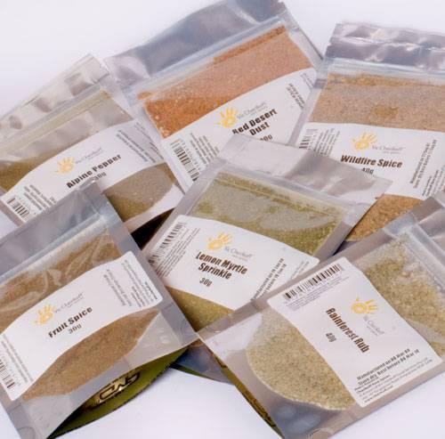 Australian Herbs, Spices & Seasonings - 6 sachet refills