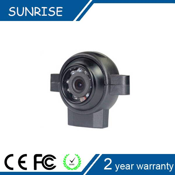 Super Wide Angle Waterproof IR Nigh Vision car side view camera system