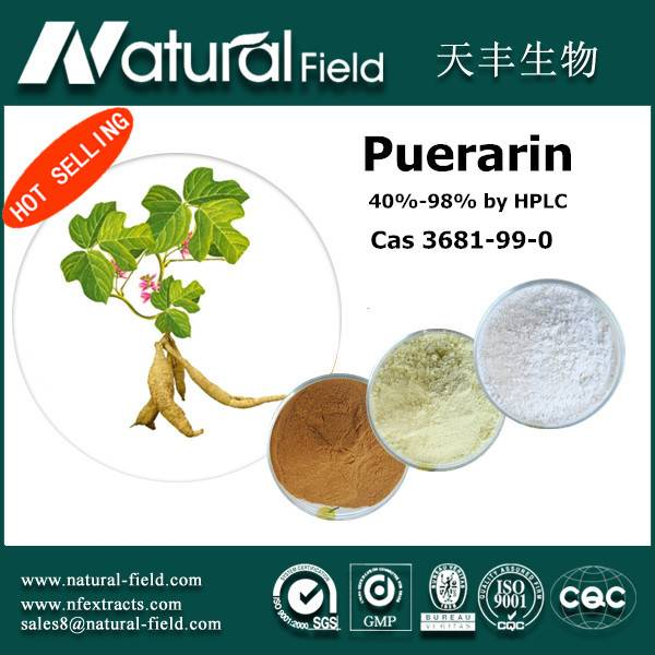 Puerarin 40%-98% by HPLC