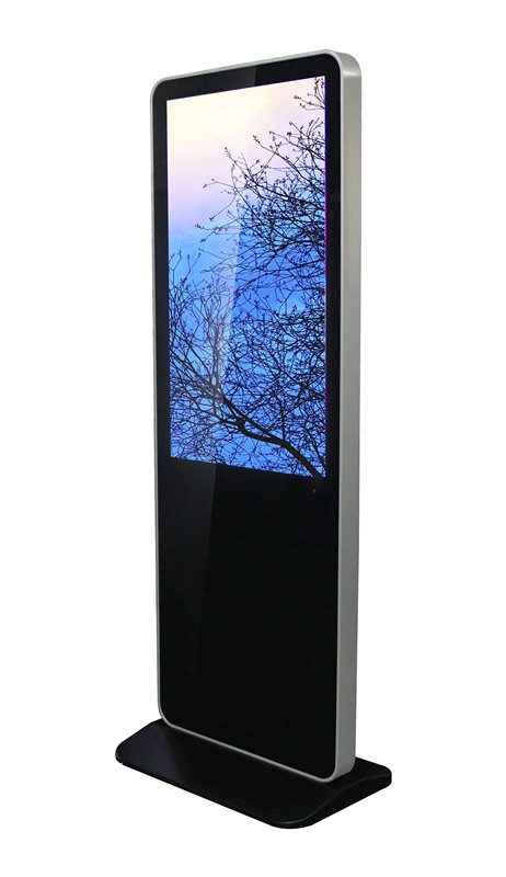 Floor-standing touch screen advertising machine Signage
