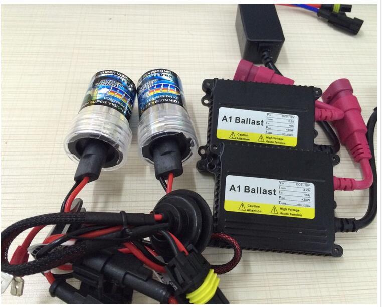 Xenon HID Ballast Kit H13 Xenon Auto HID Xenon Kit 4300k, 5000k, 6000k, 8000k