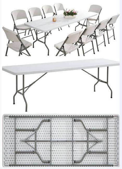 8FT Top Rectangle Folding Table (YCZ-244)