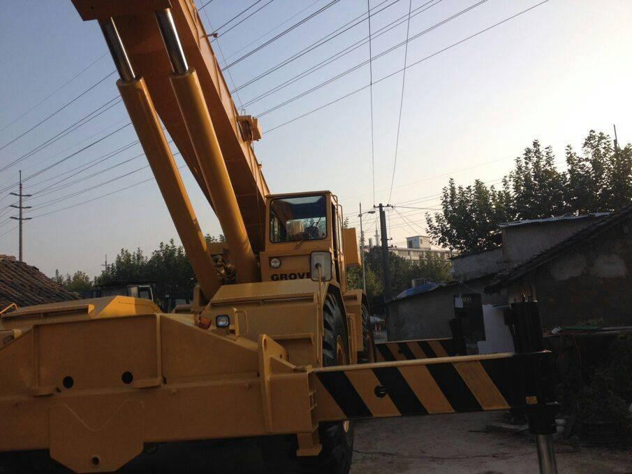 Used Grove 80ton rough terrain crane for sale