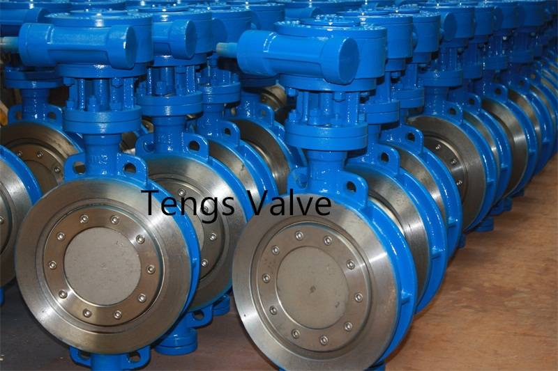 API 609 wafer type butterfly valve metal seat