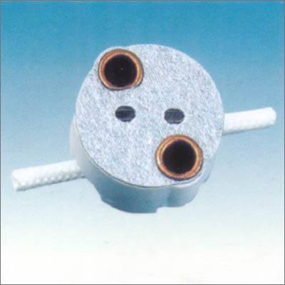 G5.3 ceramic lamp holder in UL certificate 033A-