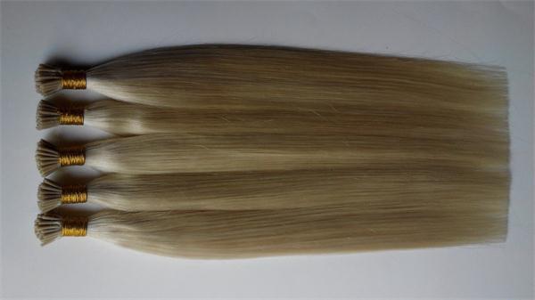 Brazilian hair Peruvian hair India's hair China's hair 613# white Straight I tip hair U tip hair
