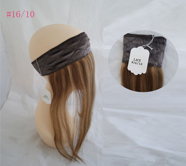 100% European Hair Lace Front Wig Grips Human Hair Lace Band For Wig