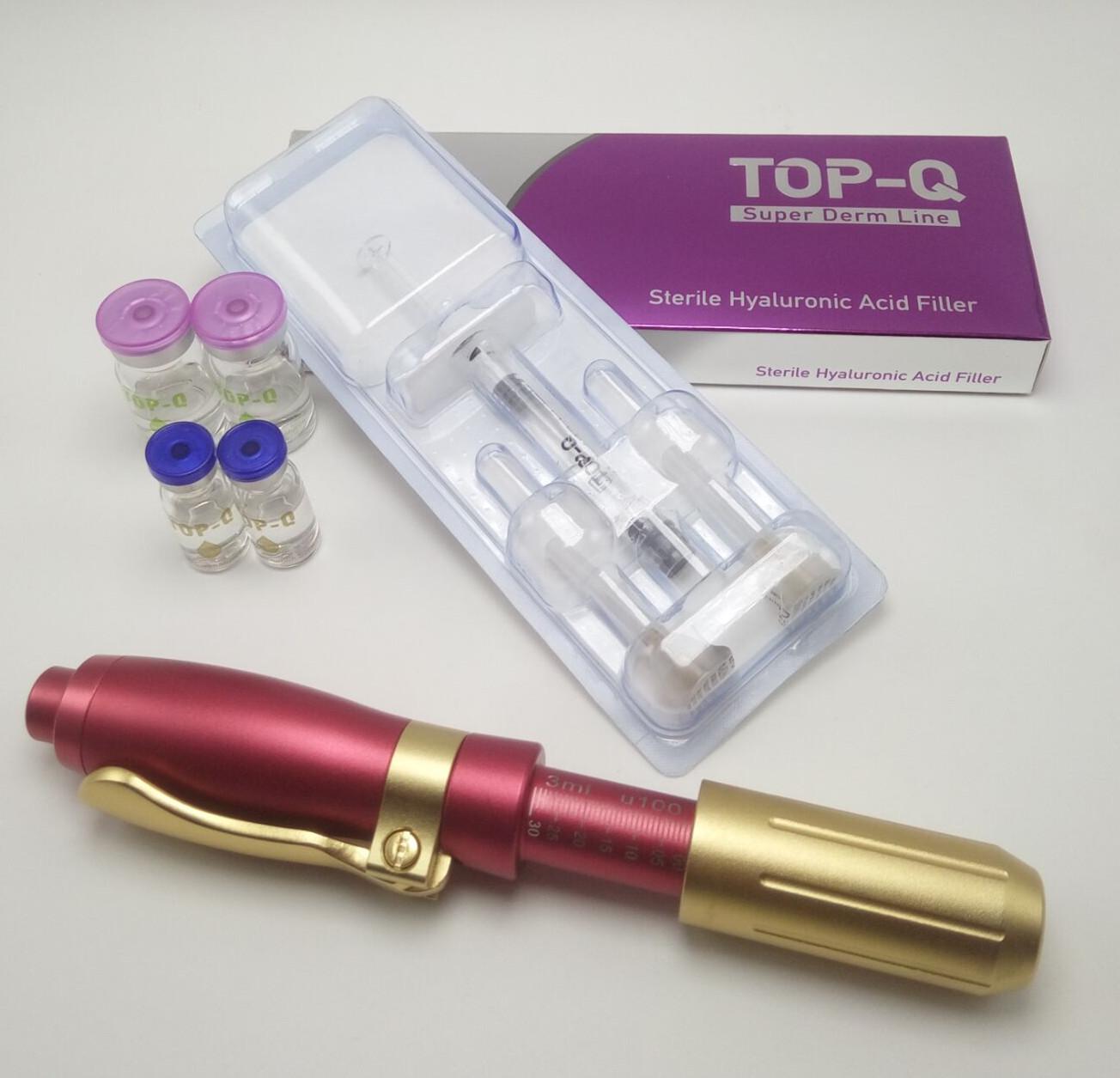 2019 TOP-Q needle free lip filler injector hyaluronic pen anti-wrinkles meso hyaluronic injection pe