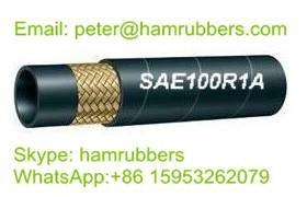 SAE 100R1A/DIN EN853 1ST Wire Braided Hydraulic Hose