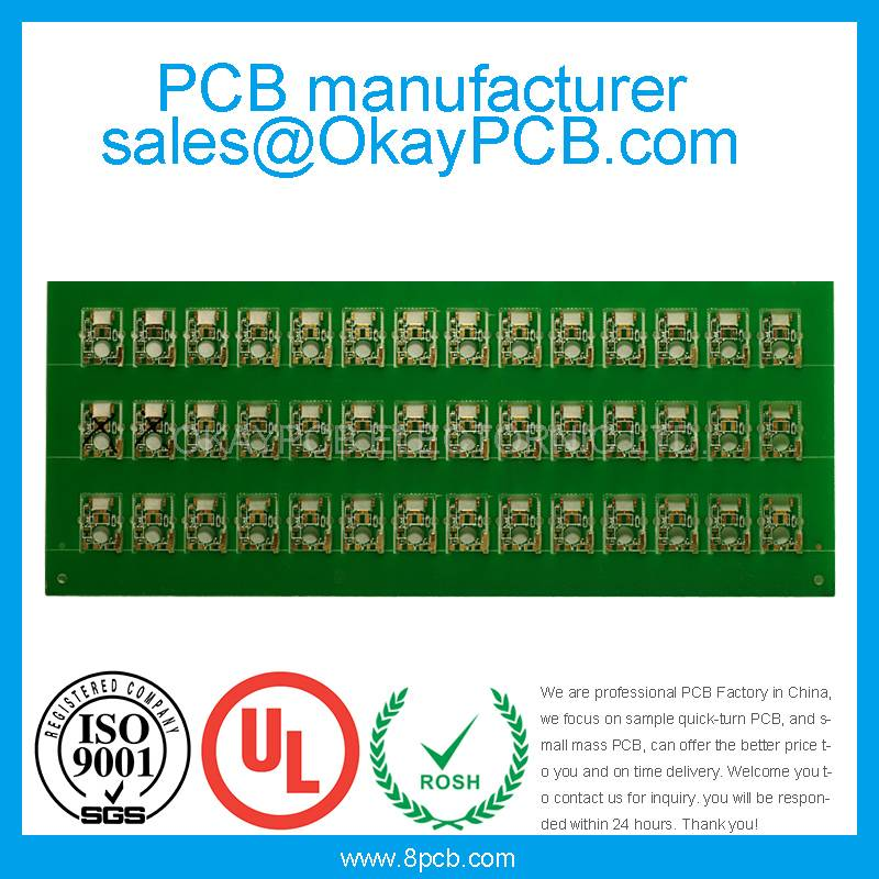 2 Layer PCB with immersion gold PCB board