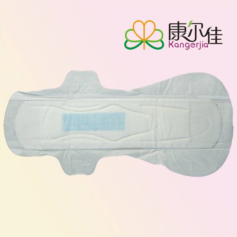 Hotsales Ultra-thin maxi-long 360mm mesh surface female sanitary napkin with leakage-proof in 4pcs p