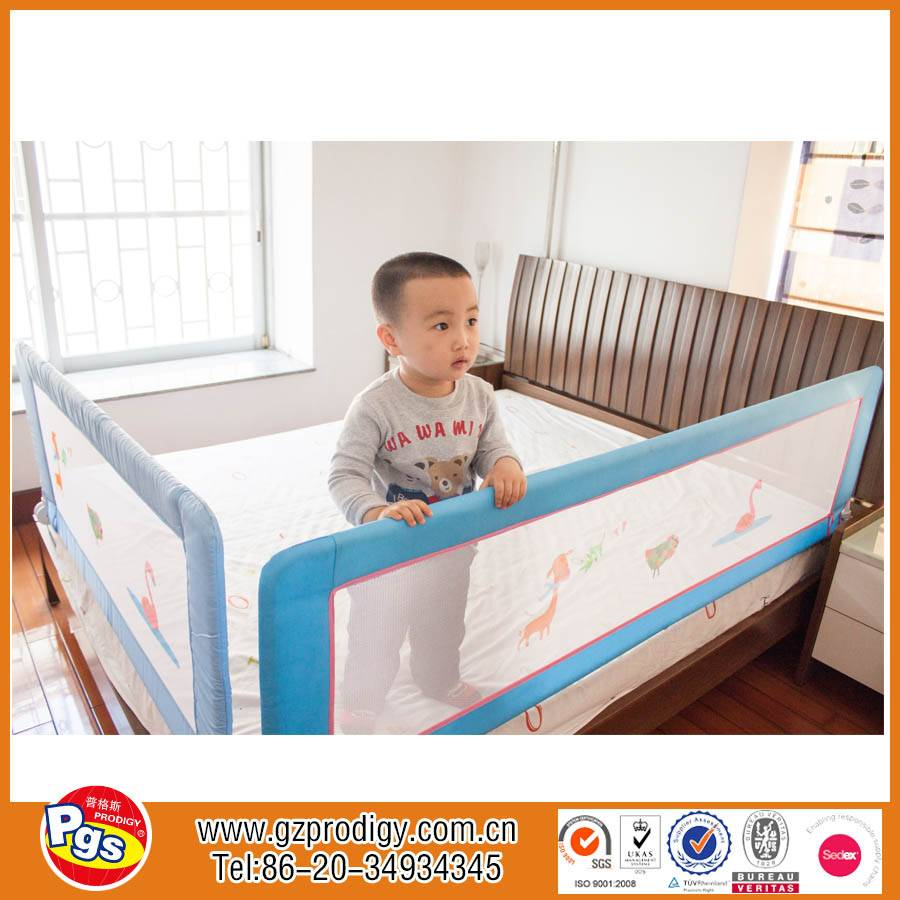 Safety Folding Child Bed Rails Bed Guard Rail For Toddlers