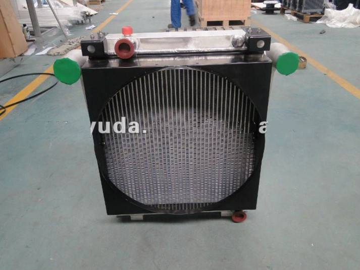 Oil cooler for Wind power generator