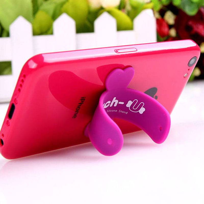 pvc phone holder stand gifts for promotion