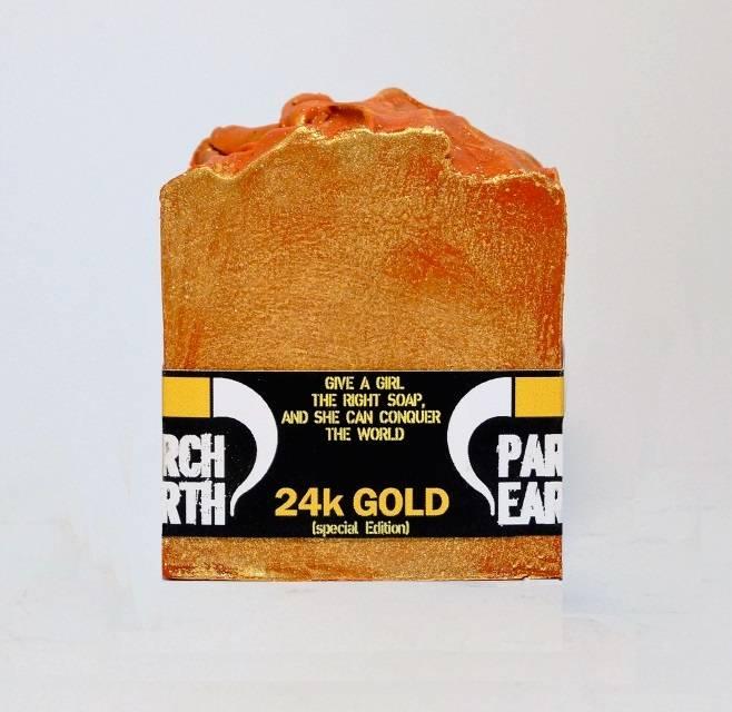 24K GOLD HANDMADE SOAP