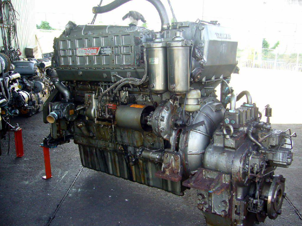 Reconditioned Yanmar 620hp diesel Inboard Engine